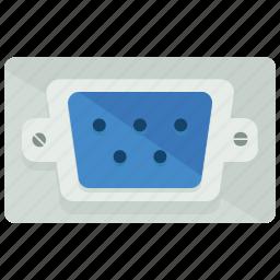 computer, device, network, plug, screen icon