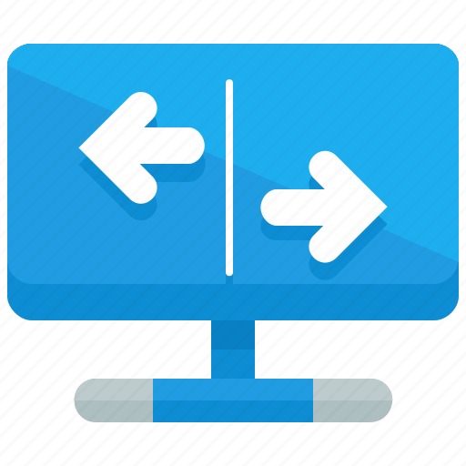 arrows, exchange, left, network, rigth icon