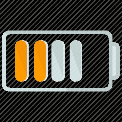 battery, medium, network, phone, status icon