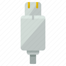 cable, charger, device, mobile, network, phone icon
