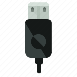 cable, charger, connect, network, usb icon