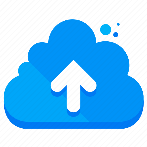 arrow, cloud, network, storage, up, upload icon