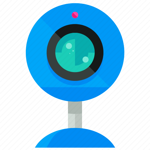 camera, chat, network, video, webcam icon
