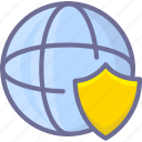 network, secure, security, shield icon