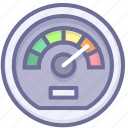 dashboard, network, speed icon