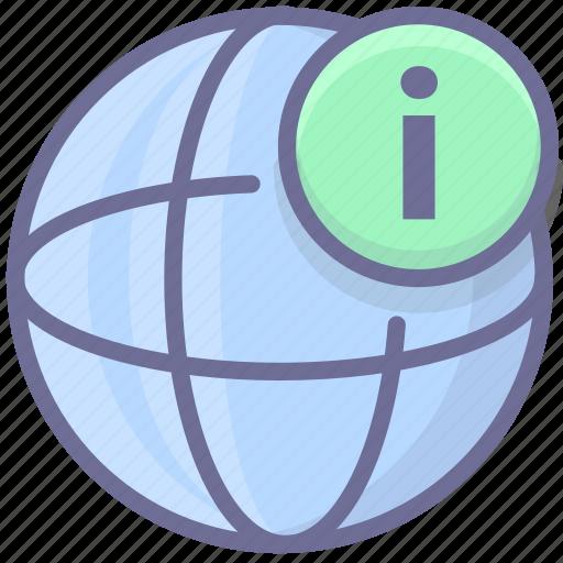 information, internet, network icon