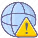 alert, network, warning icon