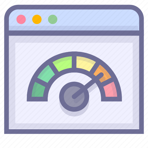 dashboard, performance, speed, speedometer icon