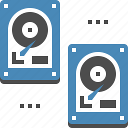 backup, data, database, disk, drive, hard, storage icon