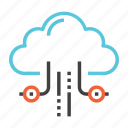 business, cloud, data, database, hosting, server, storage icon