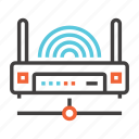 communication, connection, internet, network, wifi, wireless icon