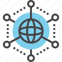 communication, connection, global, international, internet, link, network