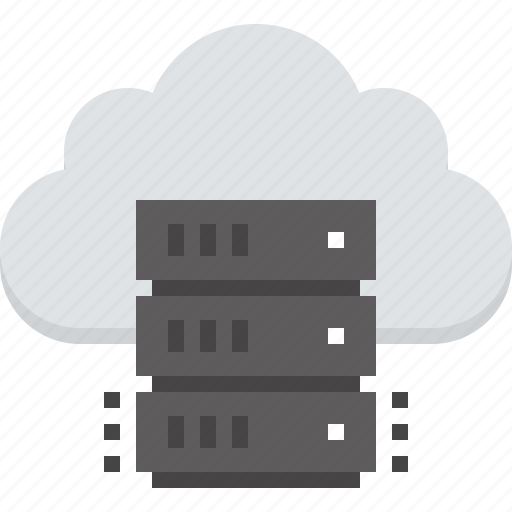 cloud, computing, data, hosting, internet, network, storage icon