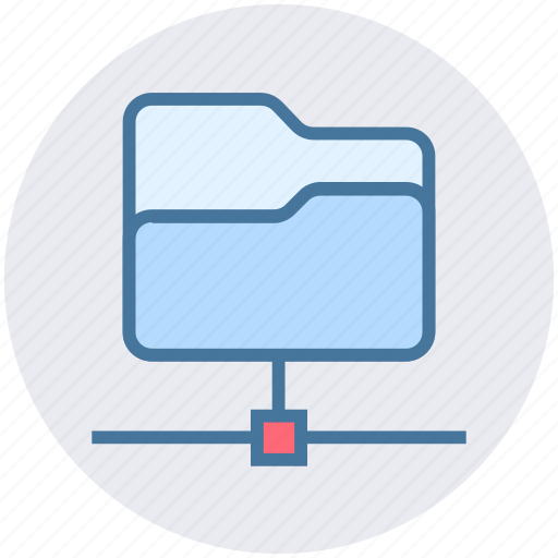 access, connection, data, folder share, ftp access, network, sharing icon