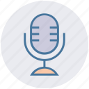 mic, microphone, recording, retro mic, singing, sound, studio mic icon