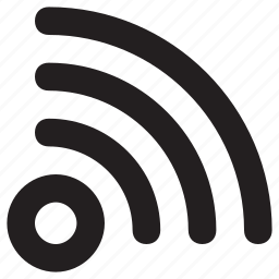 blogging, feed, rss, wifi, wifi signals icon