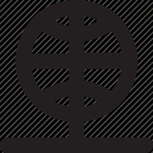 globe, internet, network, server, sharing icon