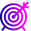 achieve, aim, board, dart, goal, success, target icon