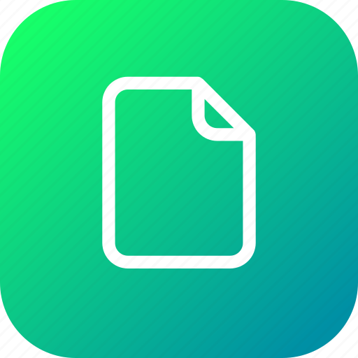 document, file, important, memo, paper icon