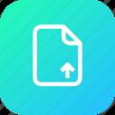 document, file, important, memo, paper, upload