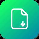 document, download, file, important, memo, paper