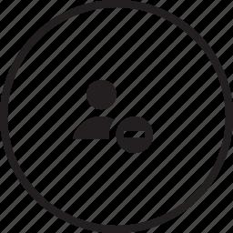 avatar, cancel, male, profie, remove, user icon