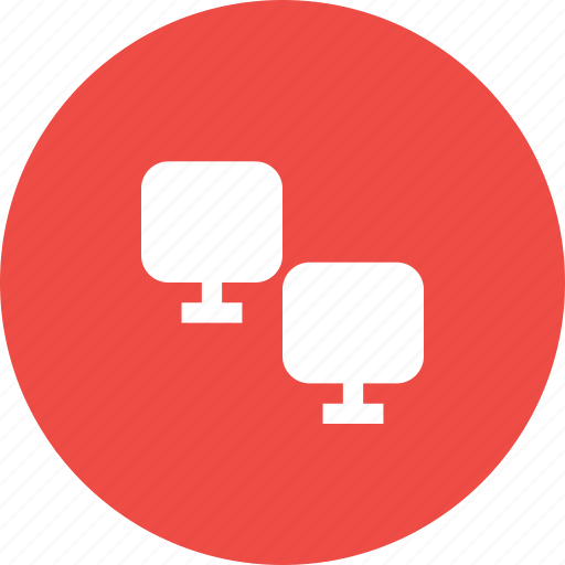 computer, data, file, share, sharing, transfer icon