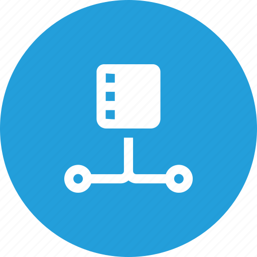 connection, data, database, lan, network, server, storage icon