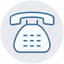 call, communication, home, landline, phone, ringing, telephone icon