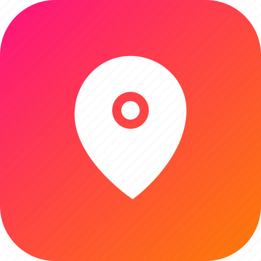 direction, location, marker, navigation, pin icon