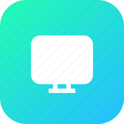 computer, device, display, laptop, monitor, technology icon