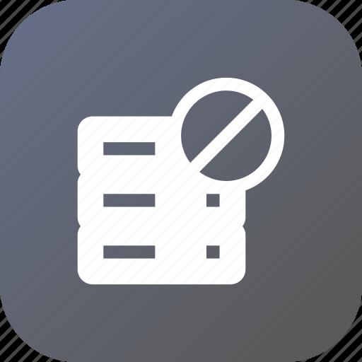 Block, data, database, rack, server, storage icon - Download on Iconfinder