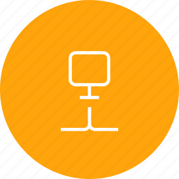 computer, connection, data, lan, network, storage icon