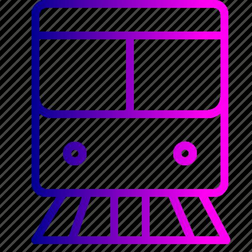 engine, railway, station, train, transportation, travel, vehicle icon