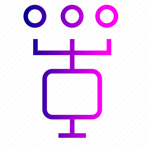 chain, computer, connection, data, file, hierarchy, sharing, transfer icon
