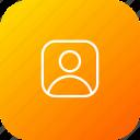 profie, person, male, user, avatar icon