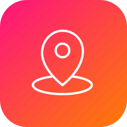 direction, location, map, marker, navigation, pin icon