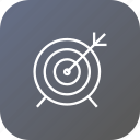 achieve, aim, board, dart, goal, success, target icon