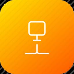 computer, connection, data, lan, network, storage icon