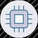 cpu, hardware, microchip, processor, processor chip, processor cpu icon