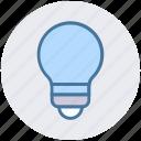 bulb, electricity, idea, lamp, light, light bulb