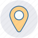 gps, location, map, navigation, pin, place, position icon