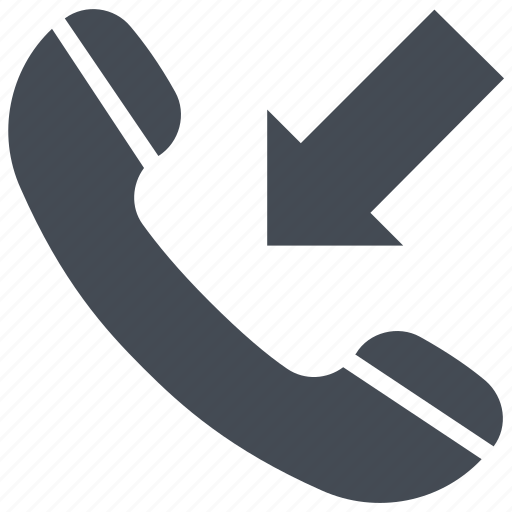 call, incoming call, phone, phone call, receiver icon