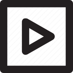 media, media player, multimedia, play button, play video icon