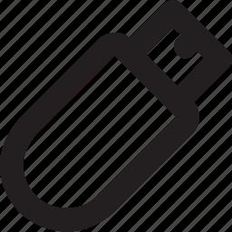 flash drive, memory, pendrive, usb, usb stick icon