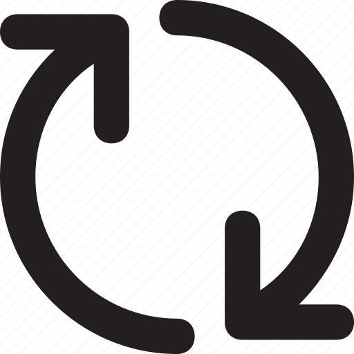 arrows, processing, refresh, sync, synchronization icon