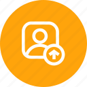 avatar, male, profie, upload, user