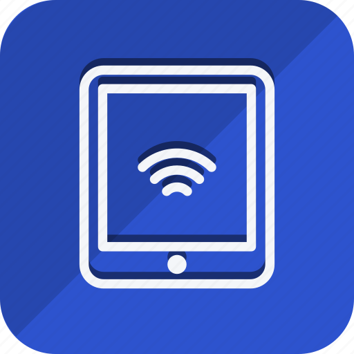 communication, device, internet, network, networking, tablet, wireless icon