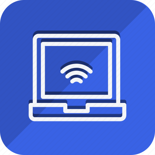 communication, device, internet, laptop, network, networking, wireless icon