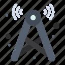 internet, network, signal, tower, wifi